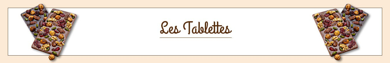 Assortiment de Tablettes de chocolat artisanales
